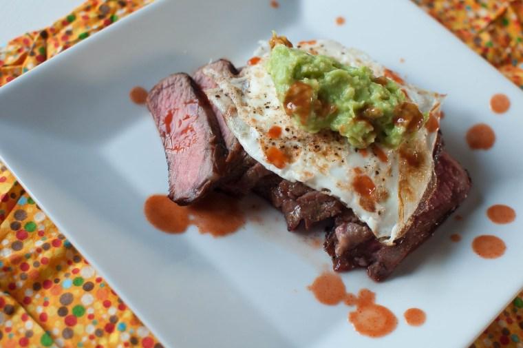 Steak, Eggs and Guacamole 7
