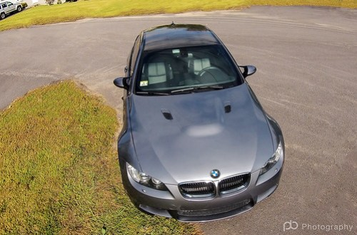 BMW M3 from above