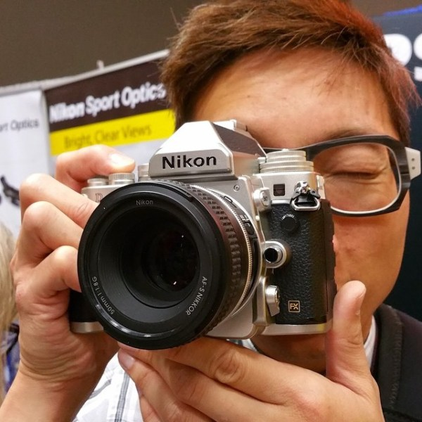 The @nikoncanada Df camera is pretty sweet #LDTech @yeshe