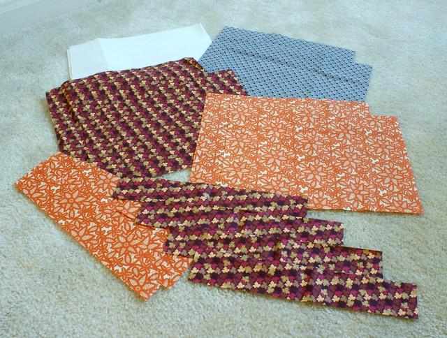 Cut out fabrics