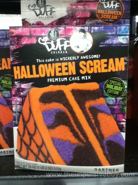 Duff Goldman Halloween Scream Cake Mix