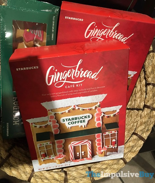Starbucks Gingerbread Cafe Kit