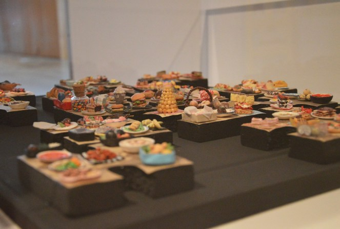 Gallery of modern art, brisbane, exhibition, miniature food, photography