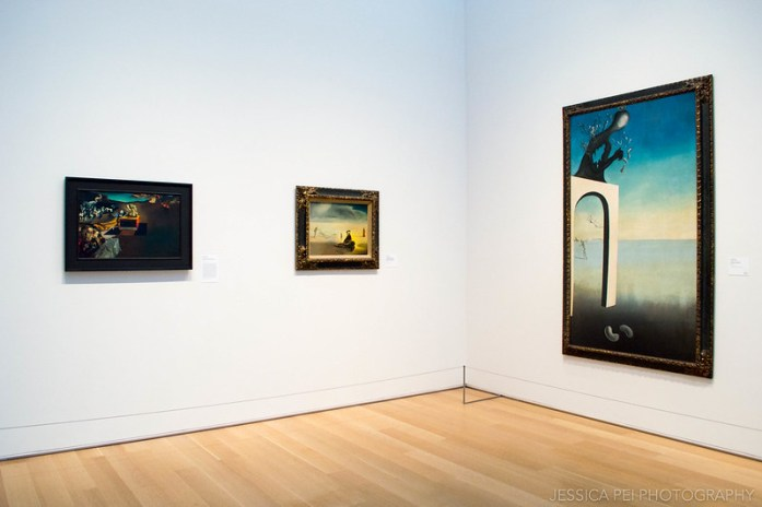 Salvador Dali Surrealist Paintings in Modern Art Gallery in Art Institute of Chicago