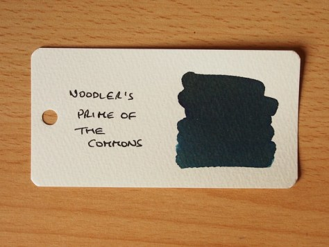 Noodler's Prime of the Commons - Word Card