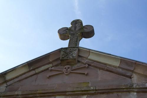 Entrada cementerio de Elizondo