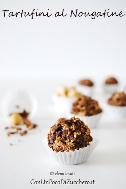 Nougatine truffles 1
