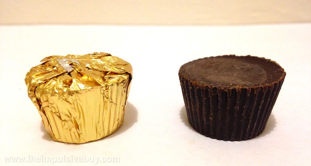 Trader Joe's Dark Chocolate Speculoos Cookie Butter Cups TJ Cookie Butter cup escapes from foil