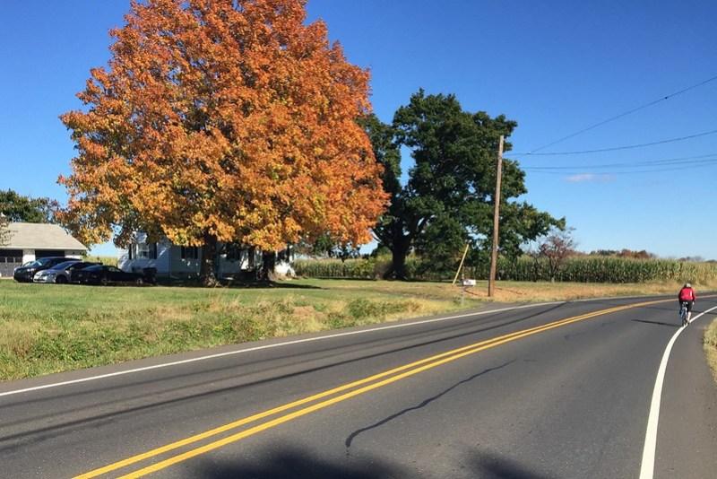 Autumn Riding in Pennsylvania
