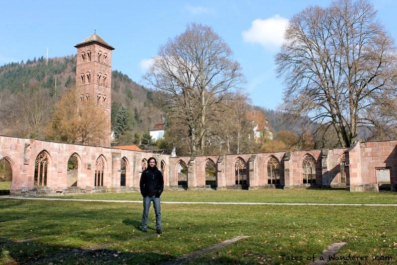 CALW - HIRSAU - Kloster Hirsau - Kreuzgang / Eulenturm