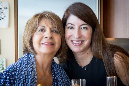 Maria Teresa and Natalie