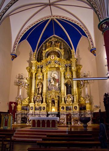 Altar iglesia de Santiago
