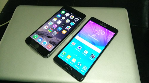 iPhone 6 Plus vs Galaxy Note 4