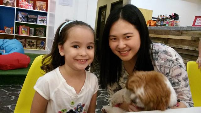 Lucia with Arisa & Rima