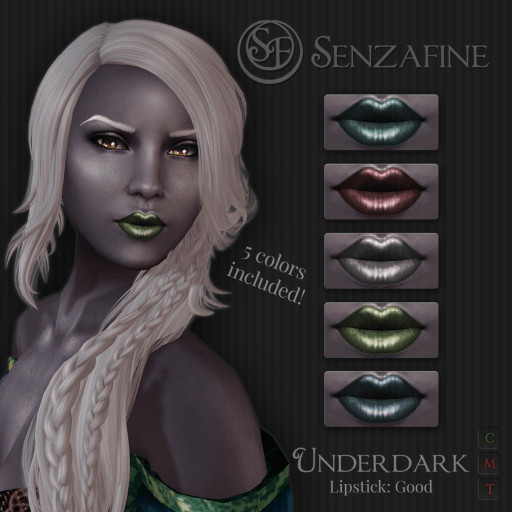 """Underdark"" Lipstick: Good Pack Ad"