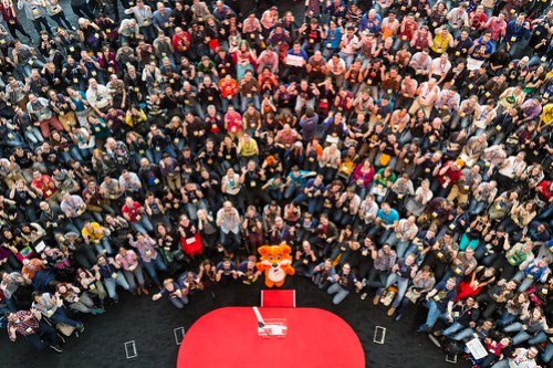 Arrived as individuals, ended MozFest as a community :)