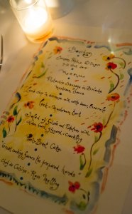 Pepin's Hand Painted menu