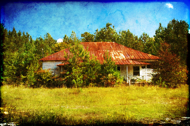 Fruit Hill School HDR Texture