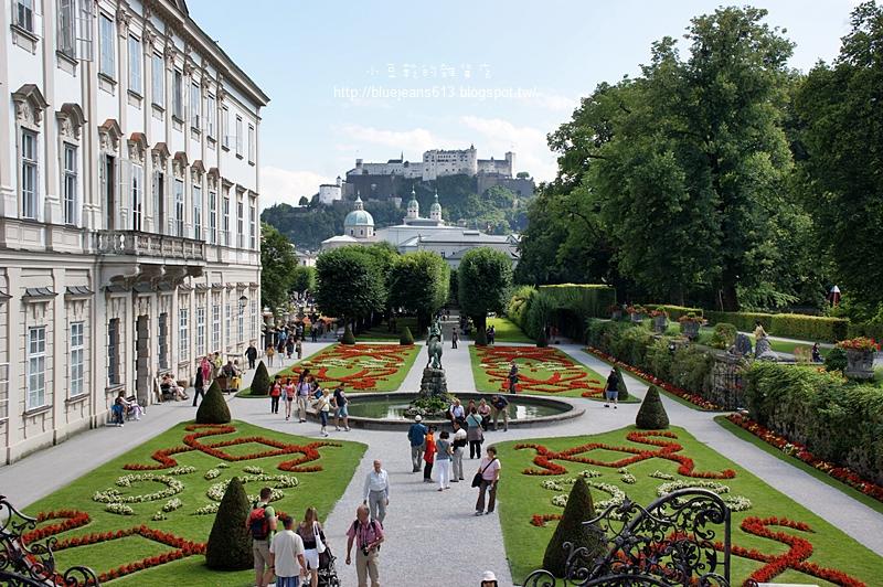 小豆乾的雜貨店: 【奧地利】薩爾斯堡Salzburg。米拉貝爾宮和花園Schloss Mirabell&Mirabellgarten