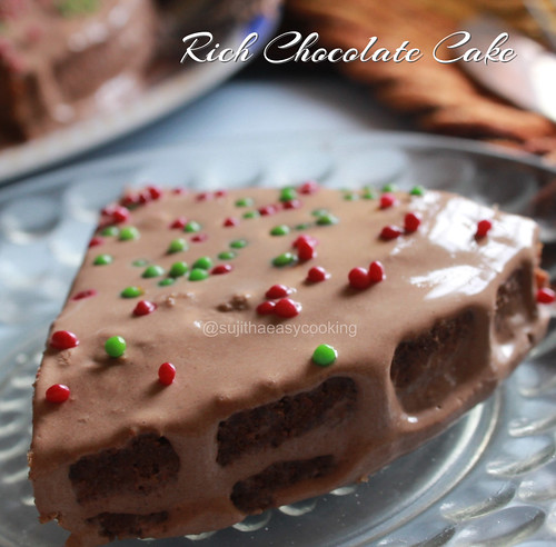Rich Chocolate Cake4
