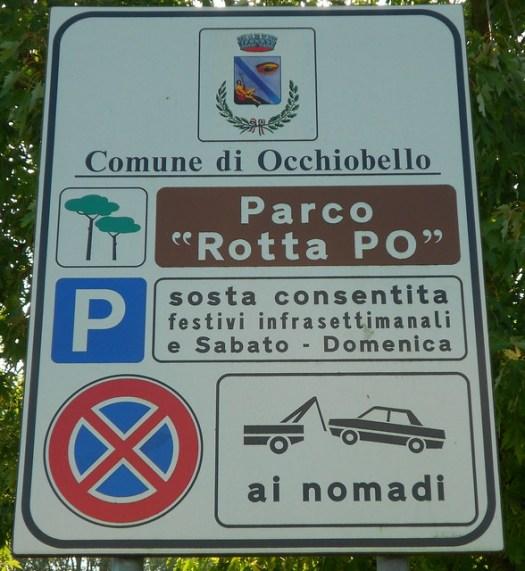 parco Rotta Po, Occhiobello