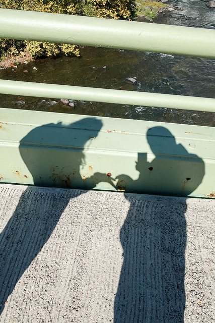 """Love Shadow"" Croton Dam."