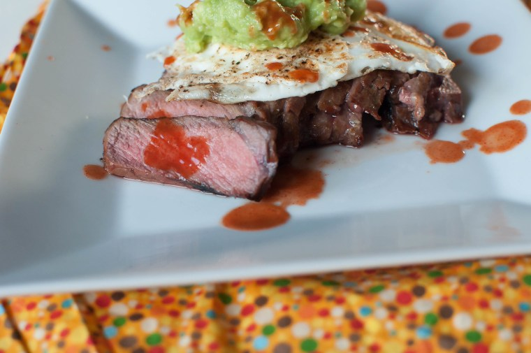 Steak, Eggs and Guacamole 6