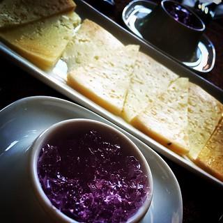 Gelatina de violeta