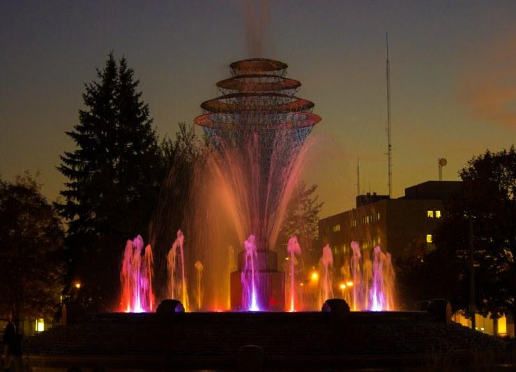 Fountain in Council Bluffs