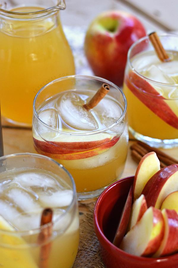 Spiced Coconut Rum & Apple Cider Cocktail bethcakes.com