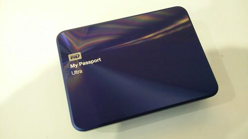 WD My Passport Ultra Metal Edition