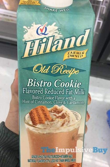 Hiland Old Recipe Bistro Cookie Flavored Reduced Fat Milk