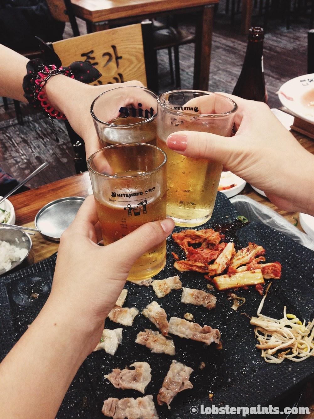 28 Sep 2014: Dinner @ Jong-ga Daebaek Jib   Busan, South Korea