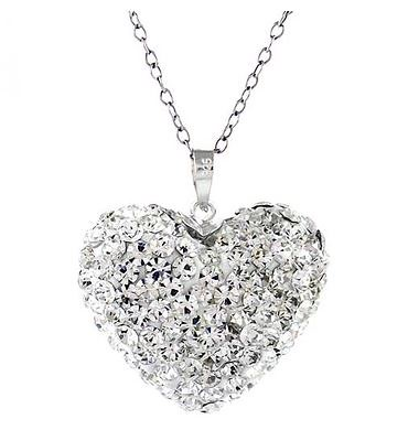 Swarovski Elements Heart Bubble Necklace $12.99 from
