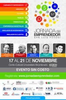 SLP sede de la Jornada del Emprendedor Potosino