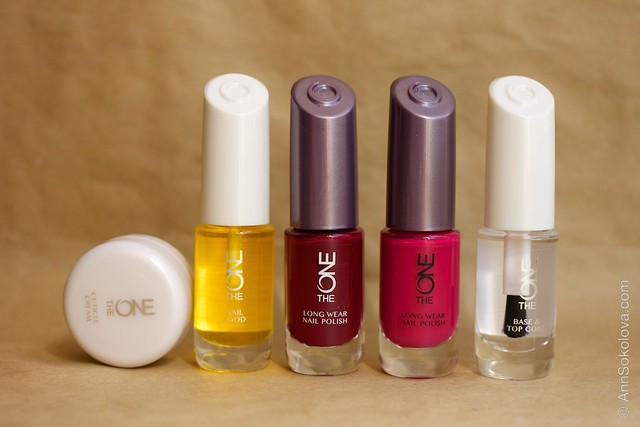 01 Oriflame The One Cuticle Care and Nail Polishes