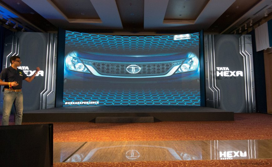 tata hexa facts and specifications