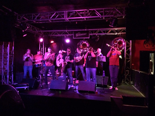 Bear Brass Band at the Ska Parade Lounge on October 8, 2014