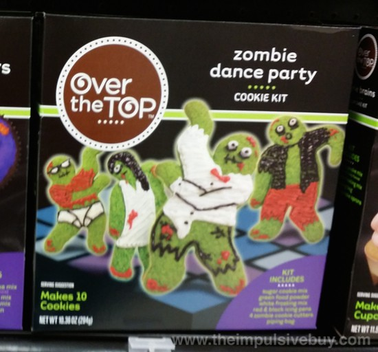 Over the Top Zombie Dance Party Cookie Kit