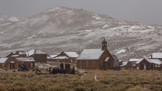 Bodie on a Snow Day, Bodie State Historic Park, California