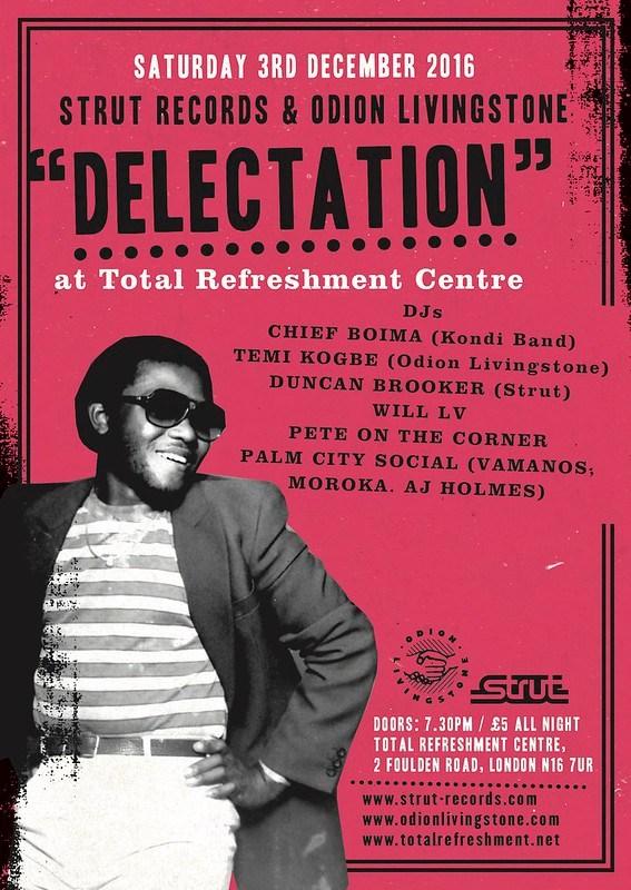 """Chief Boima at Strut Records' """"Delectation"""""""
