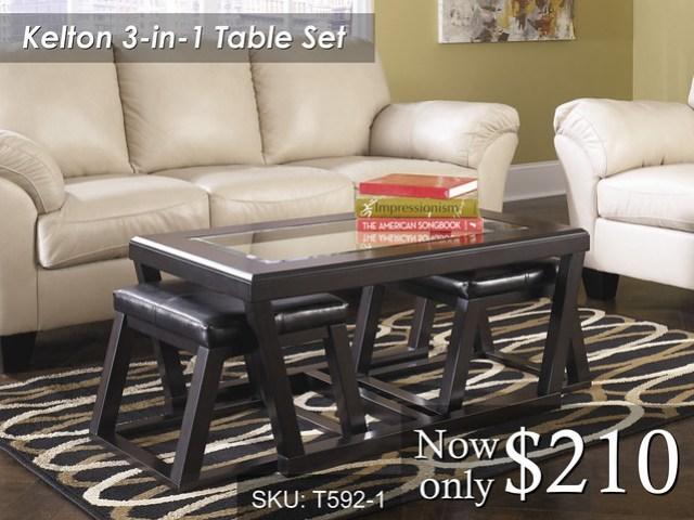 T592-1- $210 T592 End Tables $105 Each