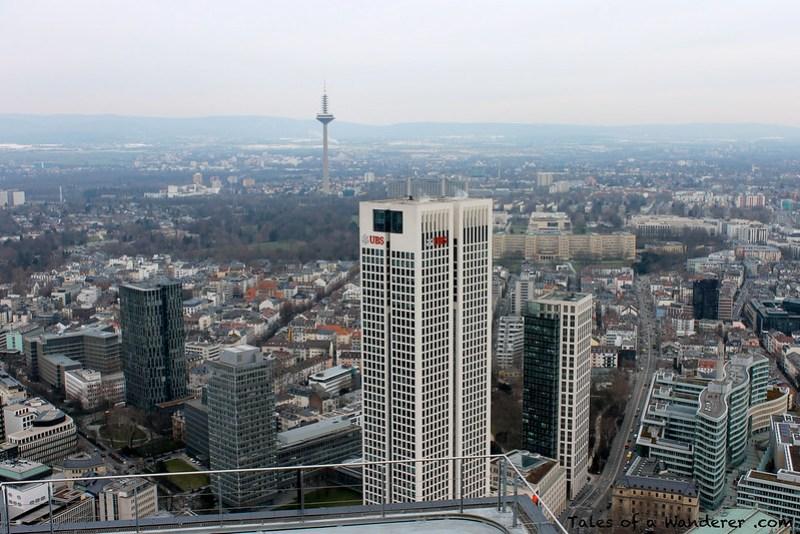 FRANKFURT AM MAIN - Main Tower - Europaturm / Opernturm