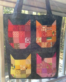 Scrappy Cat Tote