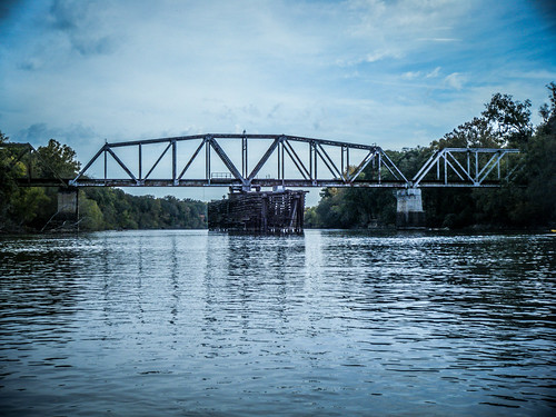 Savannah River from Stokes Bluff with LCU Nov 7, 2014, 4-18 PM Nov 8, 2014, 12-003