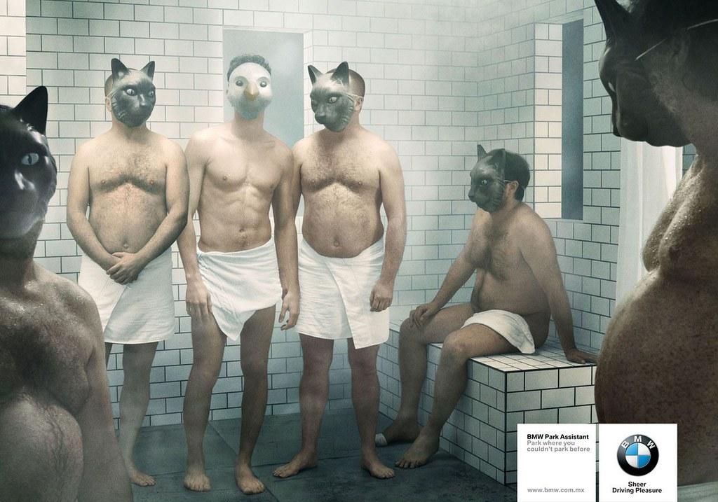 BMW Park Assist - Sauna