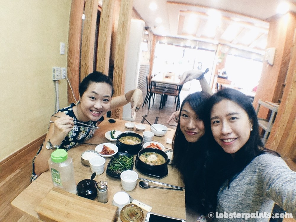 27 Sep 2014: Breakfast at 부산돼지국밥 near Beomnaegol Station | Busan, South Korea