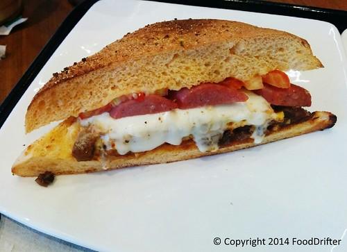 Double Meat Club Sandwich
