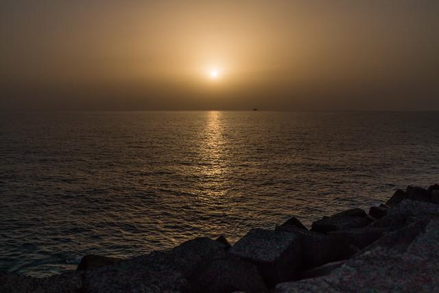 Sunset gen Gomera