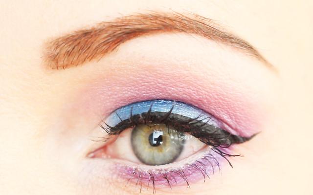 shocking pink make-up tutorial